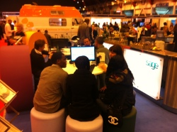 Sage stand at Business Start Up 2011, Earls Court (2)